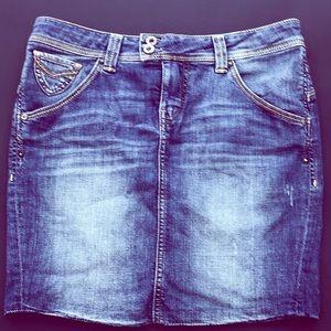 🛍GUESS Women's Jean Skirt